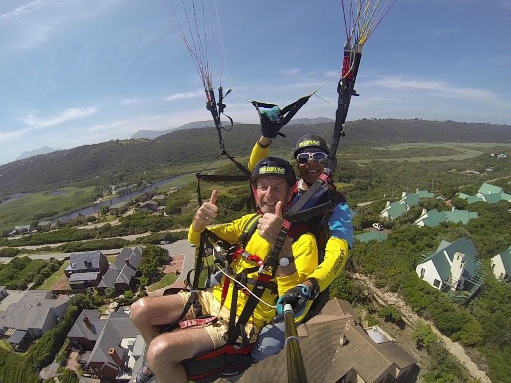Hang gliding and paragliding gift vouchers